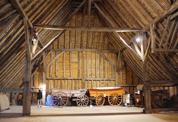 Grange Barn interior