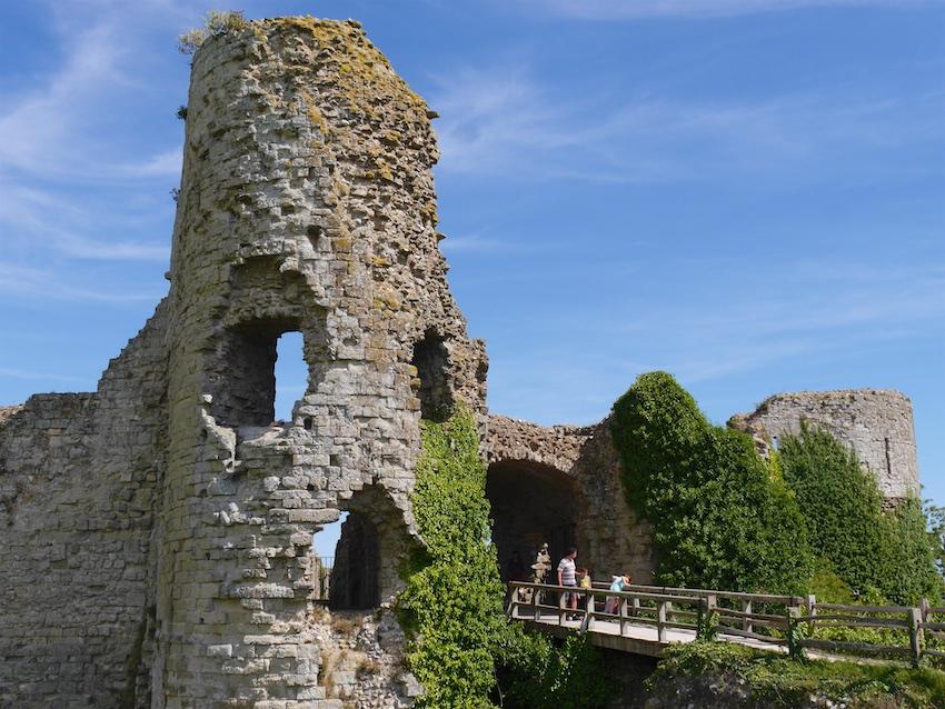 Pevensey Castle East Sussex