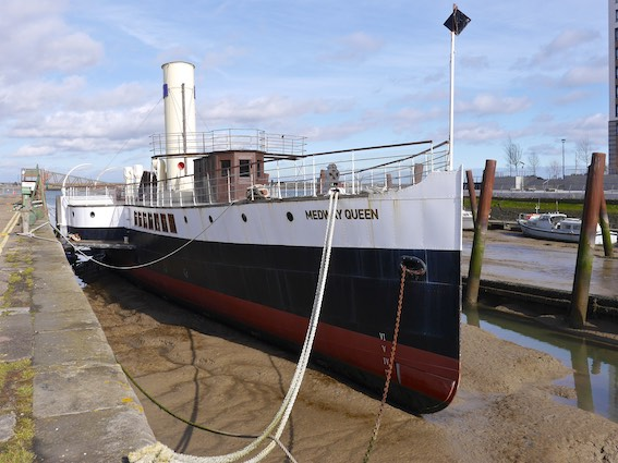 Medway Queen Paddle Steamer 1