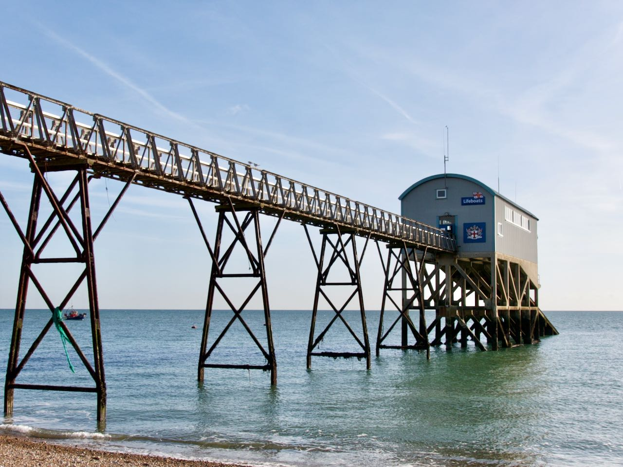 Selsey Lifeboat Station, West Sussex.