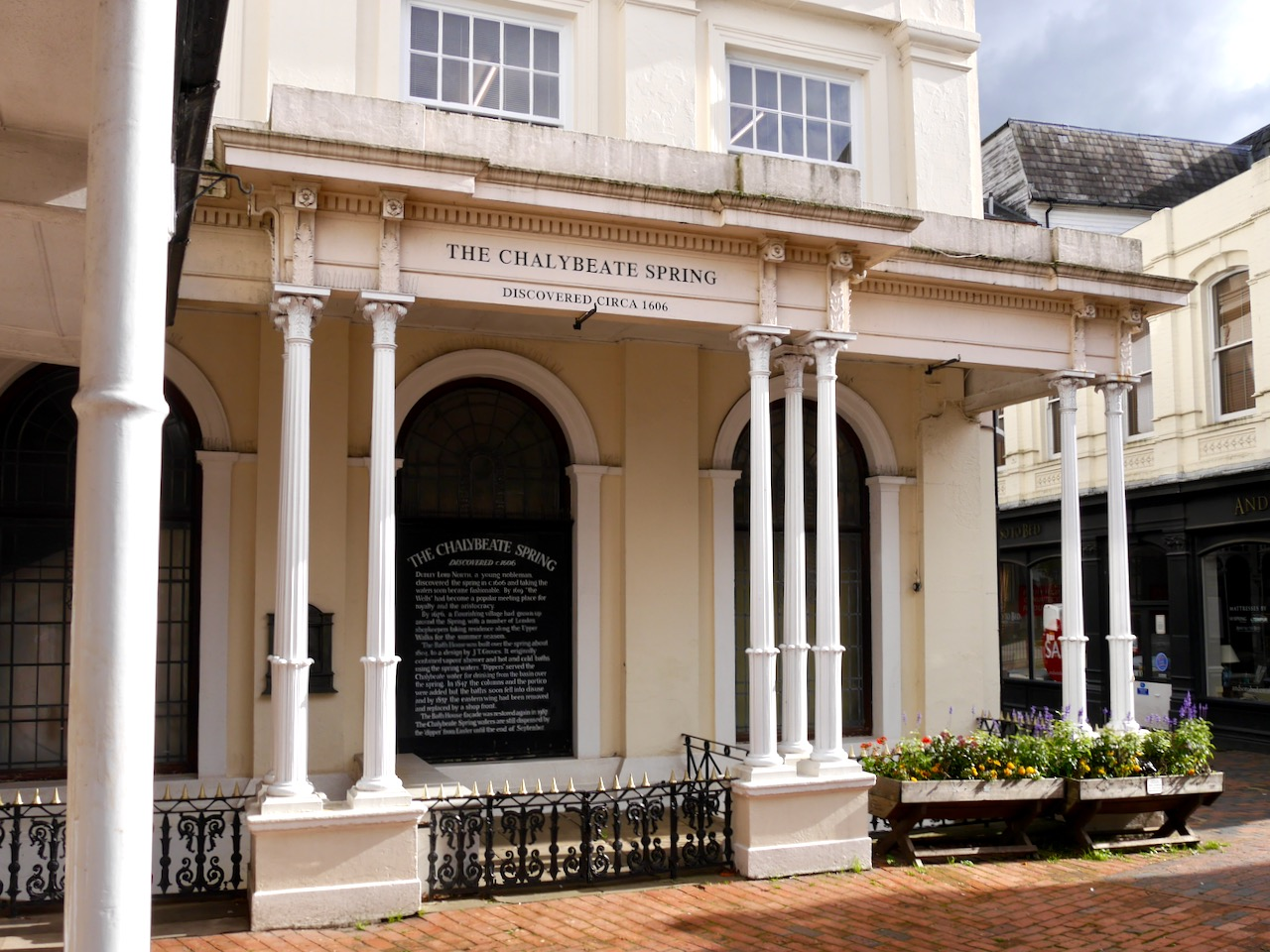 Chalybeate Spring on the Pantiles, Tunbridge Wells, Kent